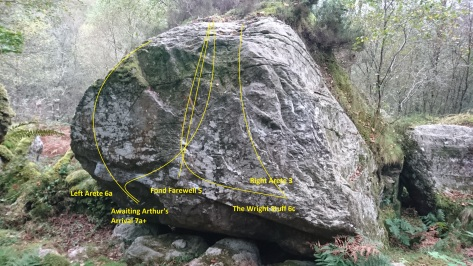 The Bryn Engan Boulder